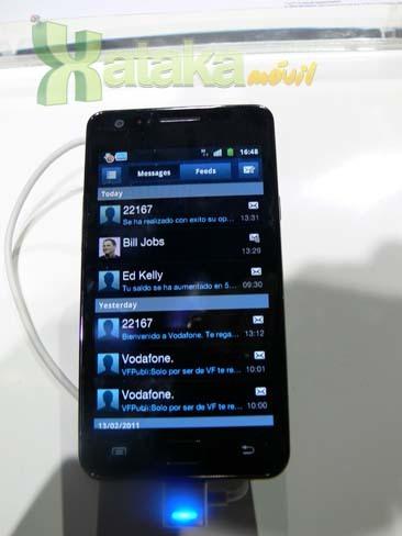 Foto de Samsung Galaxy S II en el MWC (4/9)