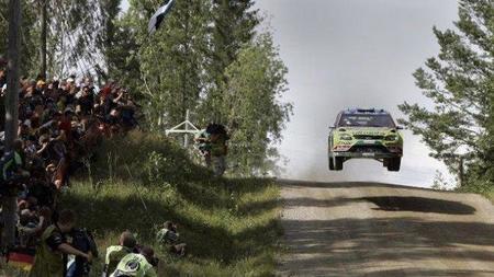 Rally de Finlandia 2010: Mikko Hirvonen manda y los Ford resurgen en el shakedown