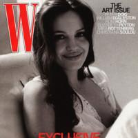 Angelina Jolie en la portada de noviembre de W