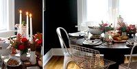 Cinco mesas de Acción de Gracias que nos pueden inspirar en Navidad