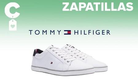 Estas zapatillas de lona de Tommy Hilfiger con casi un 40% de descuento son las más vendidas hoy en las rebajas de Amazon