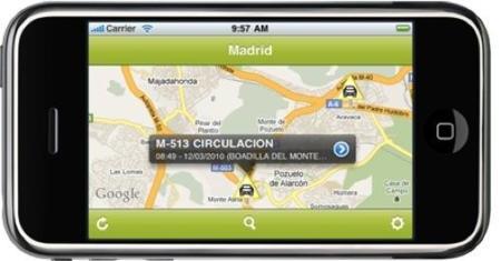 iVía DGT, controla el estado de las carreteras en España