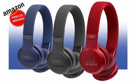 Amazon tiene los auriculares de diadema inalámbricos JBL Live 400BT a precio mínimo. Ahora cuestan 69,99 euros con 4 colores para elegir