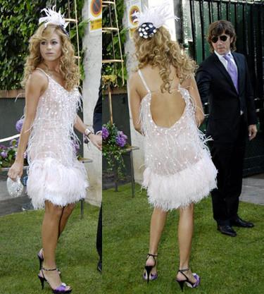 Los looks de las famosas de boda: Paulina Rubio, Paz Vega, Ariadne Artiles y Laura Ponte