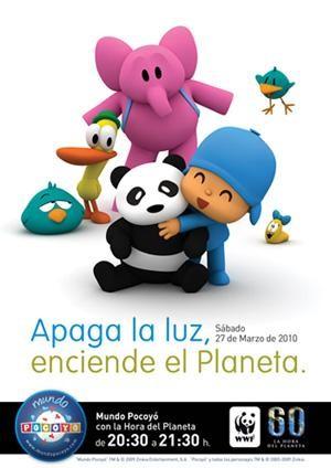 Súmate con los niños a la Hora del Planeta