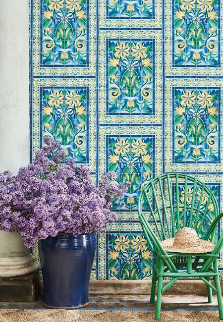 Papeles pintados florales