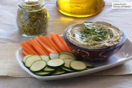 Dip de berenjena, pipas de calabaza y pistachos: receta con y sin Magimix Cook Expert