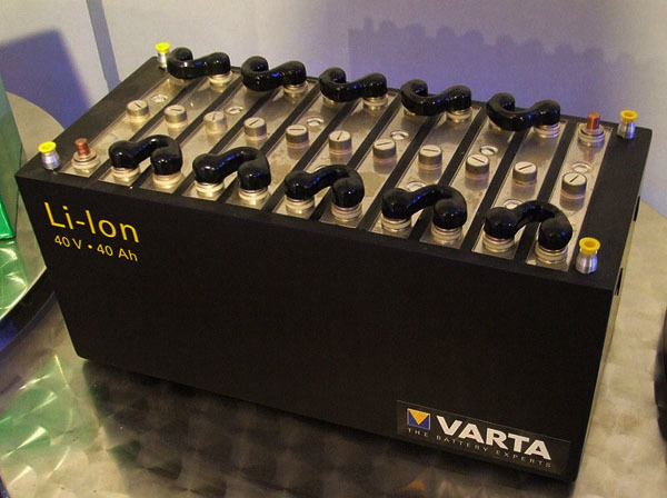 Batería de litio VARTA