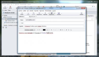 Postbox, un cliente de correo para Windows optimizado para Gmail
