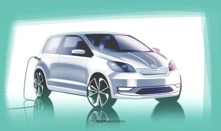 Škoda adelanta su primer coche eléctrico: un Citigo de cero emisiones que se presenta la próxima semana