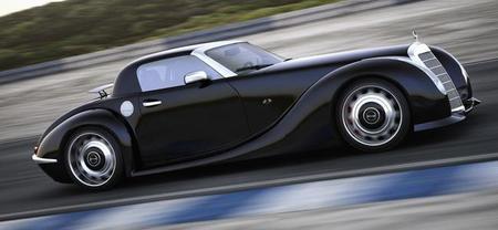 GWA 300 SLC, un SLS Roadster muy especial