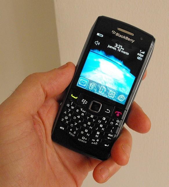 Foto de Blackberry Pearl 9100 3G, nueva pistas sobre una comercialización incipiente (1/5)