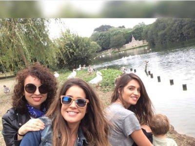 Sara Carbonero y Martín ya enseñan Oporto a las visitas