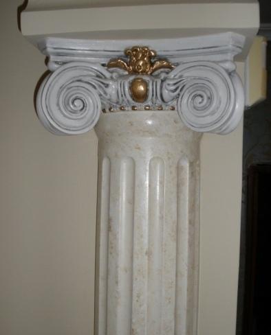 Molduras decorativas la mejor idea para rematar una obra - Columnas decorativas interiores ...
