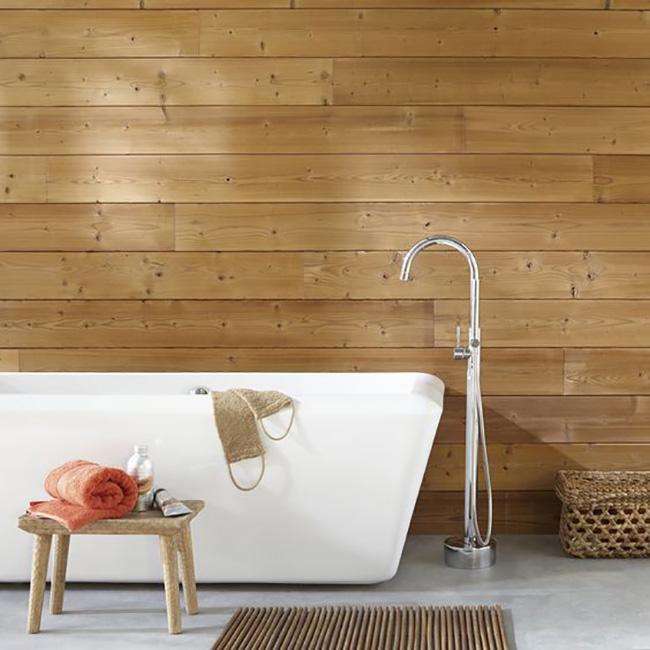 Renovar Baño Con Microcemento:Plan renovar el baño: tendencias en paredes que te van a sorprender
