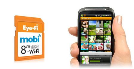 Nuevas Eye-Fi mobi, tus fotos directamente de la cámara al móvil vía wifi