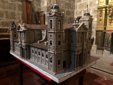 Maqueta Catedral Valladolid