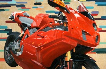 Guenevere Schwien o como convertir las motos en obras de arte