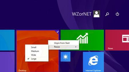 Windows 8.1 Update 1 podría añadir botones de apagado y búsqueda a la pantalla de inicio