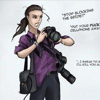 "'Stereotypes of the Photography Industry', caricaturas de tipos de fotógrafos que ""todos conocemos"" realizadas por PixelCrush"