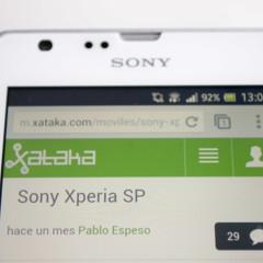 Foto 3 de 19 de la galería sony-xperia-sp-analisis en Xataka Móvil