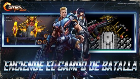 Contra dará el salto a los dispositivos móviles en julio con Contra Returns, un nuevo run and gun de acción y plataformas en 2D