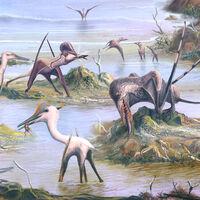 El vuelo de los pterosaurios: cómo la evolución cogió unos voladores torpes e ineficaces y los convirtió en máquinas aeronáuticas casi perfectas