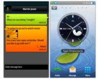 Samsung bada, primeras imágenes