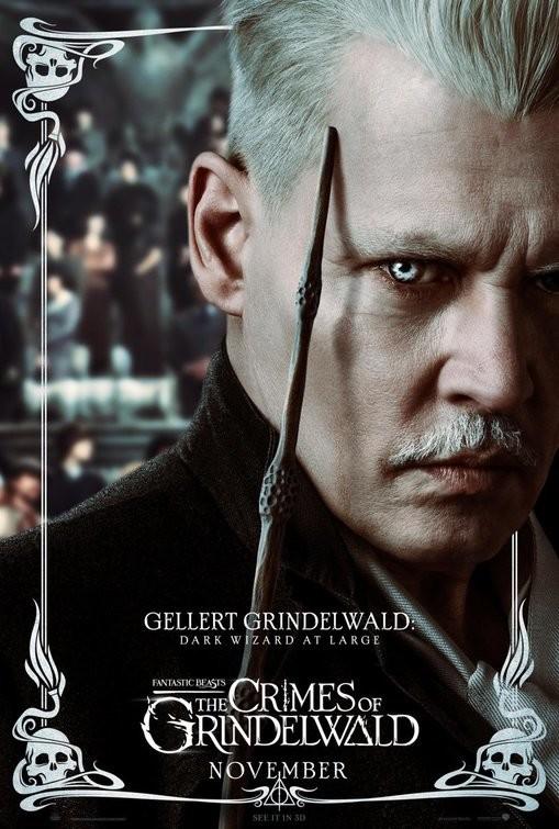 Foto de Carteles de personajes de 'Animales Fantásticos: Los crímenes de Grindelwald' (3/9)
