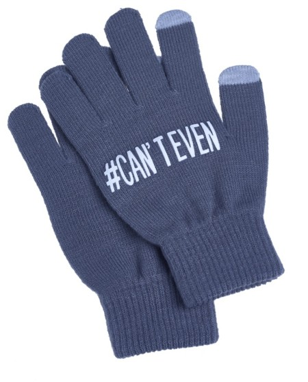 Claire S Cant Even Grey Gloves 7 50usd