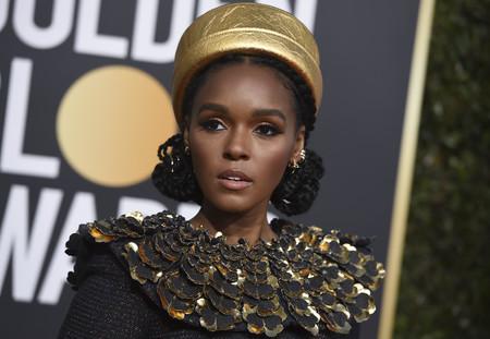 Globos de Oro 2019: no es el retorno del faraón, es Janelle Monáe vestida de Nefertiti