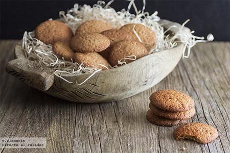 Receta de galletas de crema de almendra, para amantes de este fruto seco