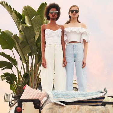 La nueva colección de Zara se llena de tops blancos perfectos para marcar la diferencia y estos 11 diseños serán los favoritos