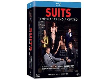 Las cuatro primeras temporadas de Suits en BluRay por 50 euros en Amazon