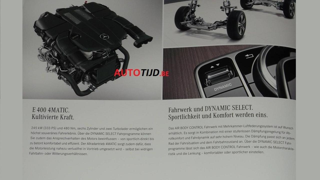 Foto de Mercedes-Benz Clase E Coupe 2018 (filtraciones) (10/11)