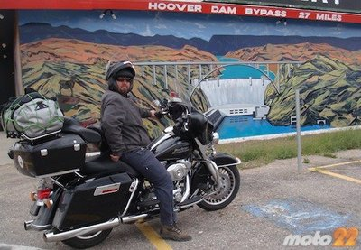 En moto por el Oeste Norteamericano (9): planes rotos, meteorología loca y las cervezas con Simon