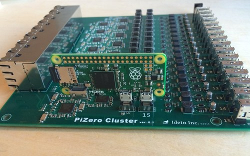 ¿Qué puedes hacer con un clúster de 80 dólares basado en las Raspberry Pi Zero?
