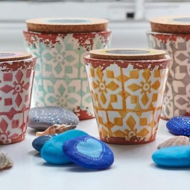 Serendipity fusiona velas y macetas en su colección para el verano