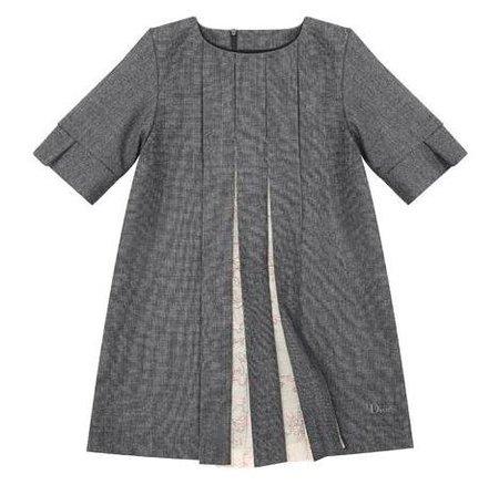 Baby Dior lana gris