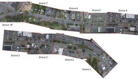 Datafromsky Drones Area Trafico