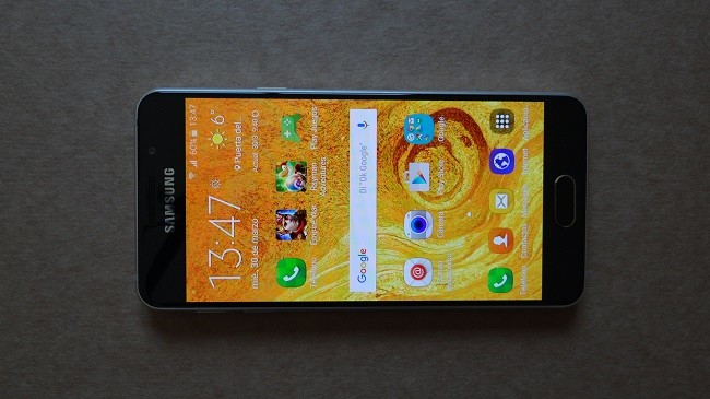 Galaxya3 Screen On