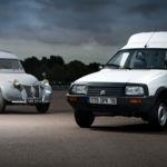 Respeto a los mayores. La Citroën 2CV Furgoneta, abuela de las furgonetas blancas, cumple 65 años