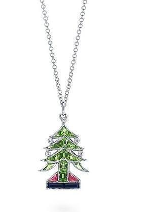 Arbol de Navidad de Tiffany's, piedras preciosas para un día entrañable