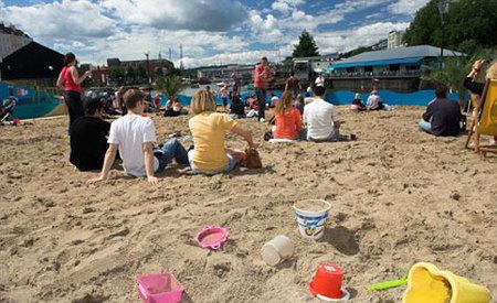 Playas urbanas en el Reino Unido