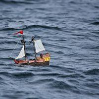 Lo que dos niños han hecho con el barco pirata de Playmobil: ponerle GPS y seguir su rastro online dando la vuelta al mundo