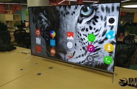 El móvil dentro de la tele: ZTE estaría trabajando en una tele Android muy peculiar