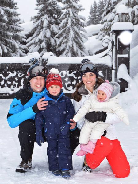 Royal Baby News: Los Cambridge llevan a los niños a la nieve y ya conocemos a Oscar de Suecia