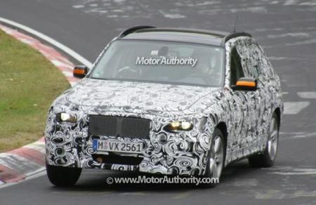 Cazado el nuevo BMW X3 en Europa y USA