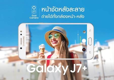 El Samsung Galaxy J7+ será el primer gama media de la marca en recibir la doble cámara