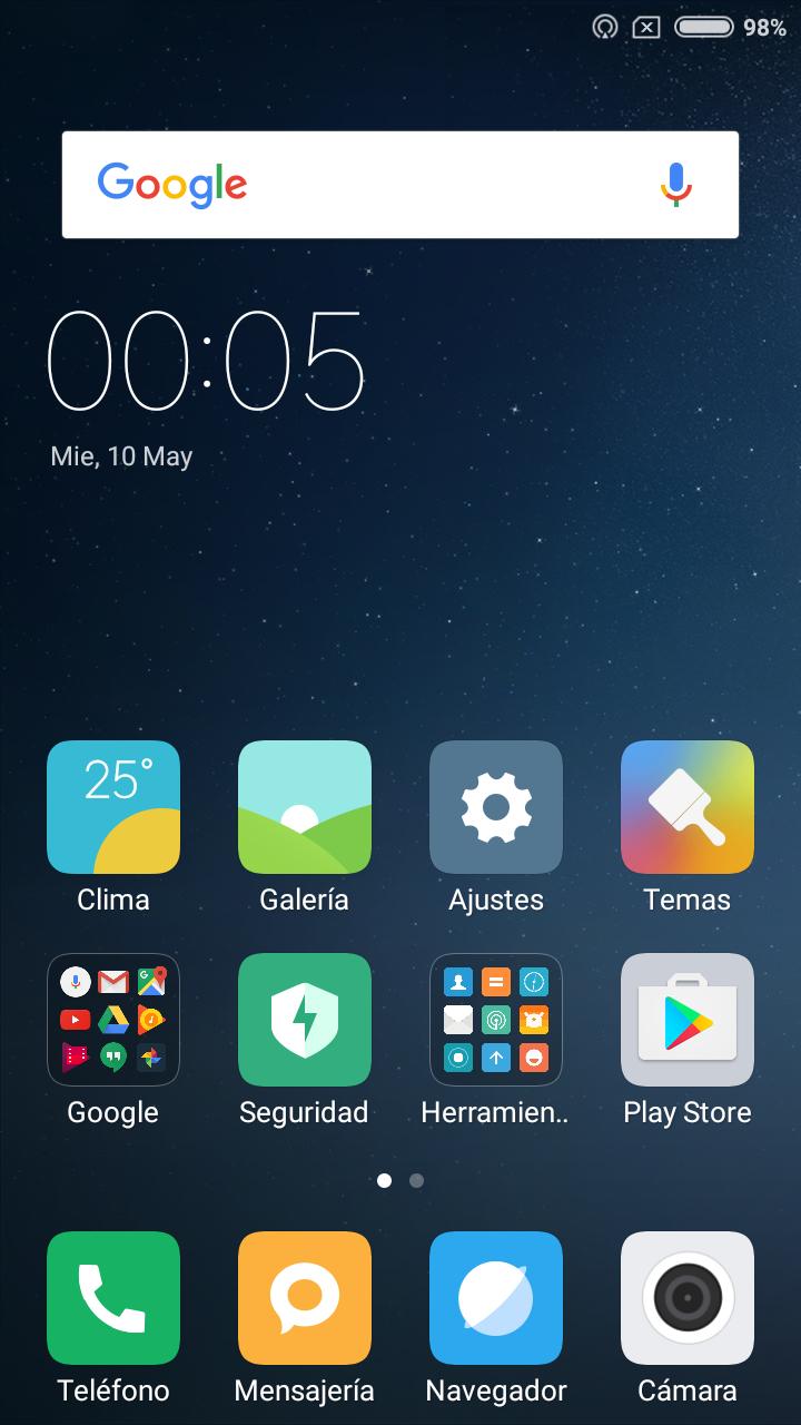 Foto de Software Xiaomi Redmi 4X (1/24)